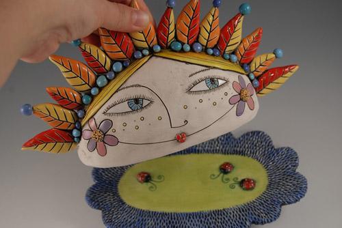 Керамическая арт-посуда и другие веселые вещицы от Natalya Sots
