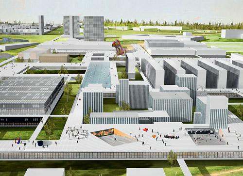 Градостроительная концепция Сколково