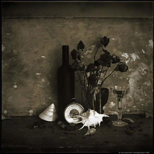 Молчание вещей. Фотонатюрморты Александра Носовского