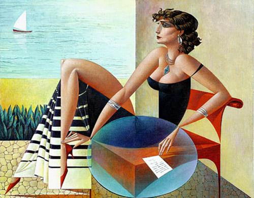 Геометрия тел. Живописный кубизм художника Георгия Курасова