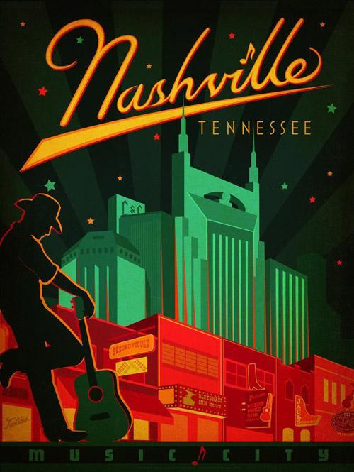 Art & Soul Of America. Постеры больших городов в ретро-стиле