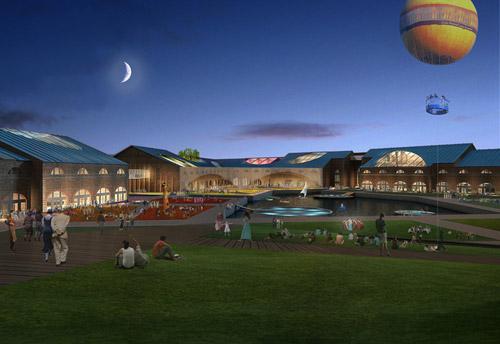 Проект реконструкции острова Новая Голландия в Санкт-Петербурге