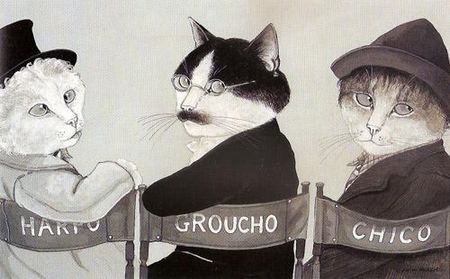 Movie Cats. Лучшие кадры кошачьего кинематографа на картинах Сьюзан Херберт