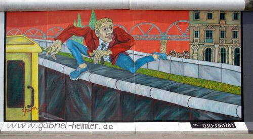 Граффити на Берлинской стене. Картины-напоминания о холодной войне