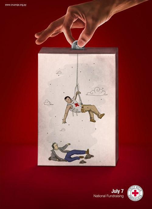 Красный Крест. Умная социальная реклама