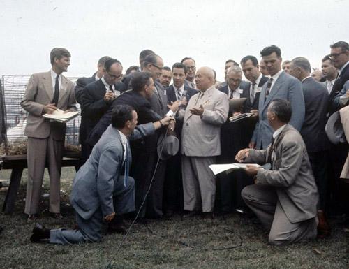 Первый визит Никиты Хрущева в США. 1959 год. Фоторепортаж о легендарном событии