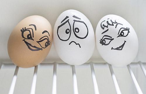 Игры с едой. Одушевленные яйца и другие товарищи Ванессы Дуалиб