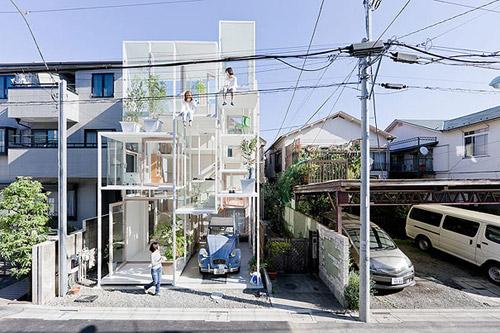 За стеклом. Прозрачный дом в Токио от Sou Fujimoto Architects
