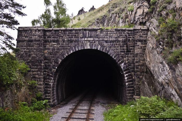 Кругобайкальская железная дорога. 30 редких фото