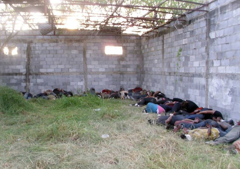 Суровая мексиканская правда жизни или настоящая жестокость.