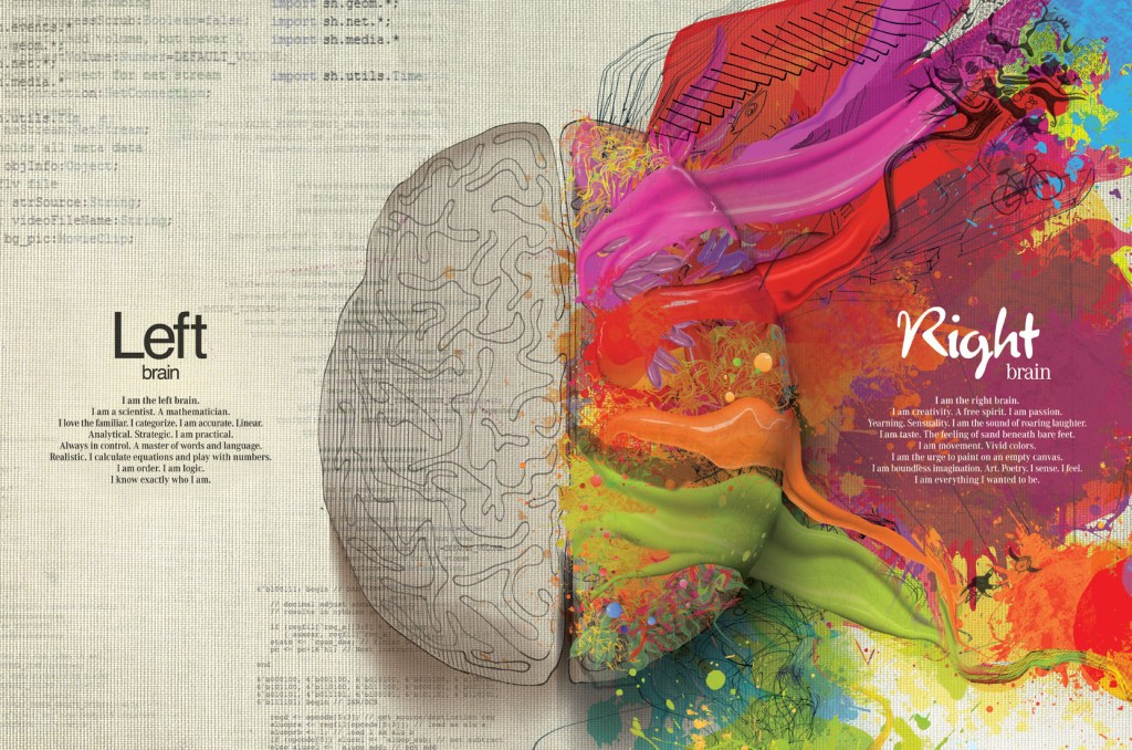 Left Brain and Right Brain