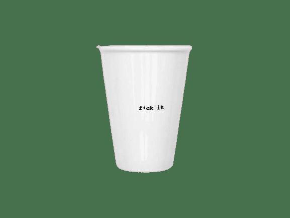 Helen b ceramic cup in white