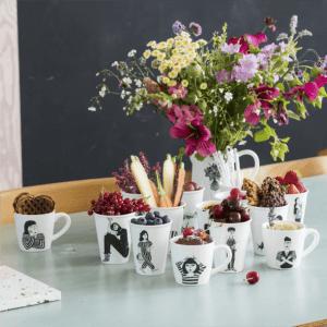 Helen B ceramic cup set