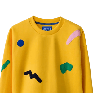 Yellow Trickle sweatshirt