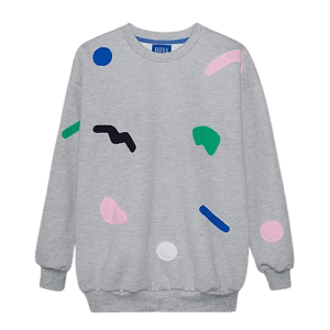 Grey Trickle sweatshirt