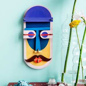 StudioROOF mask wall art