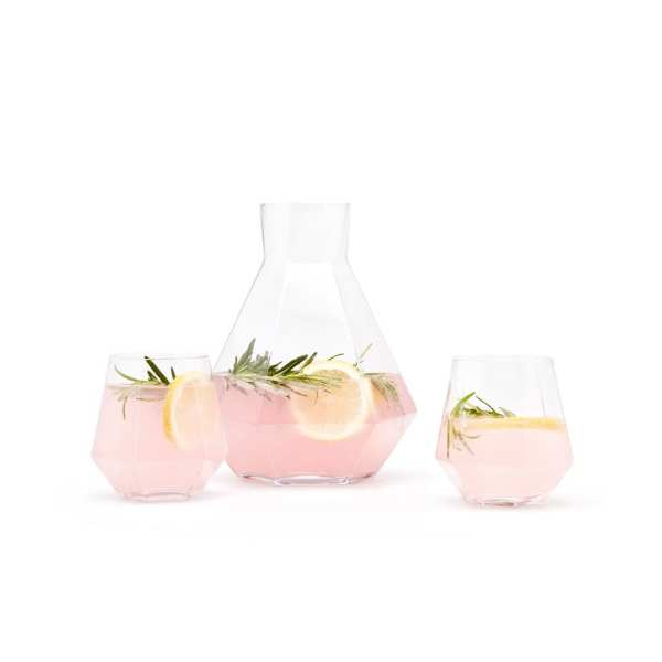 PUIK glass decanter
