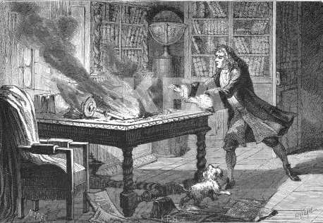 Newton's dog