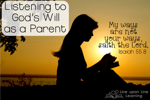 Listening to God's Will as a Parent