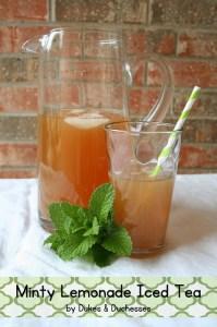 Dukes and Duchesses - Sweet Tea Ten Ways on Alldonemonkey.com