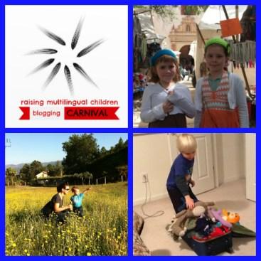 Raising Multilingual Children Blogging Carnival - Travel and Multilingualism