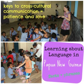 Learning about Language in Papua New Guinea - Veritable Treasure on Alldonemonkey.com