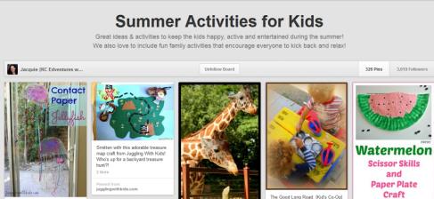 KC Edventures - Summer Fun Pinterest Boards on Alldonemonkey.com