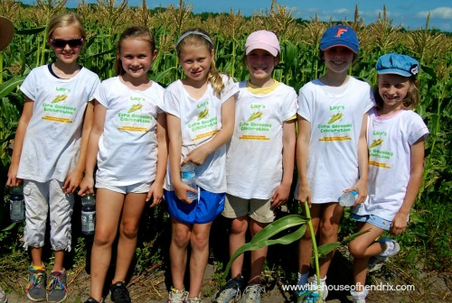 Corn Gleaning Party: The House of Hendrix {Random Acts of Kindness}