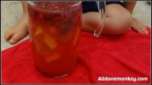Egypt: Raspberry Lemon Cooler {Around the World in 12 Dishes} - Alldonemonkey.com