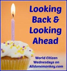 Looking Back and Looking Ahead - Achievements from the Past Year and Goals for the Next  - World Citizen Wednesdays on Alldonemonkey.com
