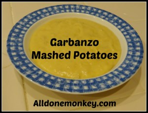 Garbanzo Mashed Potatoes - Allergen Free Diet - Alldonemonkey.com