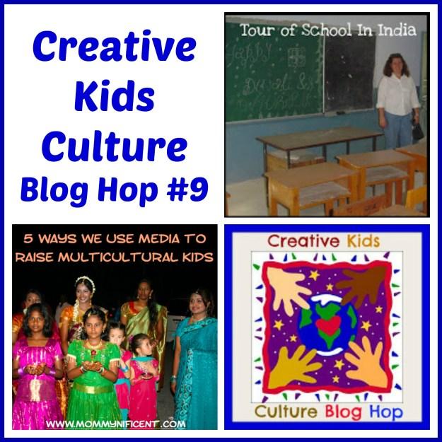 October Creative Kids Culture Blog Hop - Alldonemonkey.com