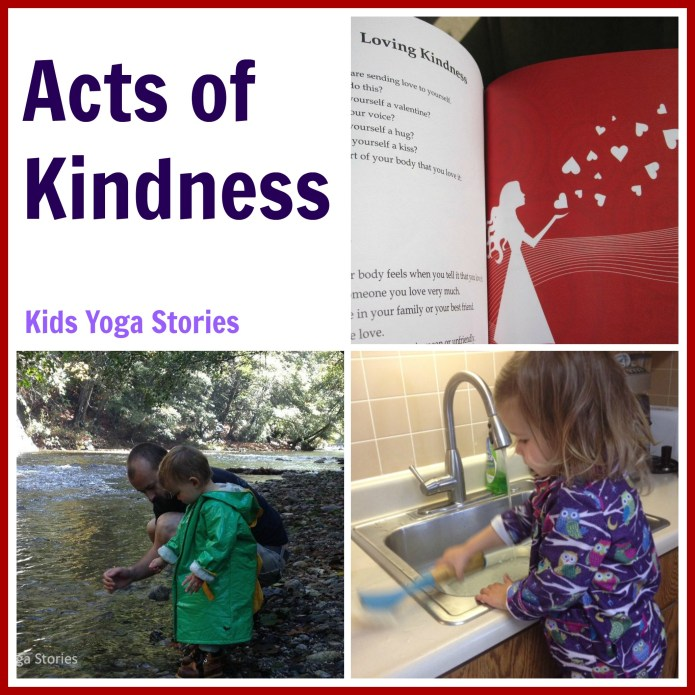Acts of Kindness: Kids Yoga Stories - Random Acts of Kindness Series on Alldonemonkey.com
