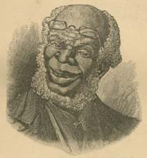 Cropped image from the title page of Uncle Remus, His Songs and His Sayings: The Folk-Lore of the Old Plantation, by Joel Chandler Harris. Illustrations by Frederick S. Church and James H. Moser. New York: D. Appleton and Company, 1881.