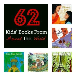 62 Kids' Books From Around the World - Playdough to Plato