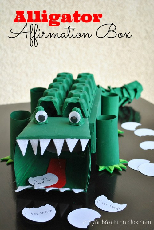 Crayon Box Chronicles - Alligator Affirmation Box
