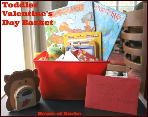 House of Burke - Toddler Valentine's Day Basket