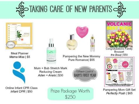 Taking Care of New Parents Giveaway
