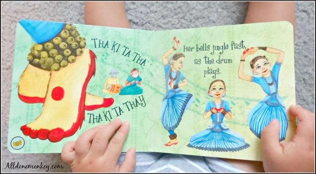 Dances of India: Multicultural Children's Book Review | Alldonemonkey.com