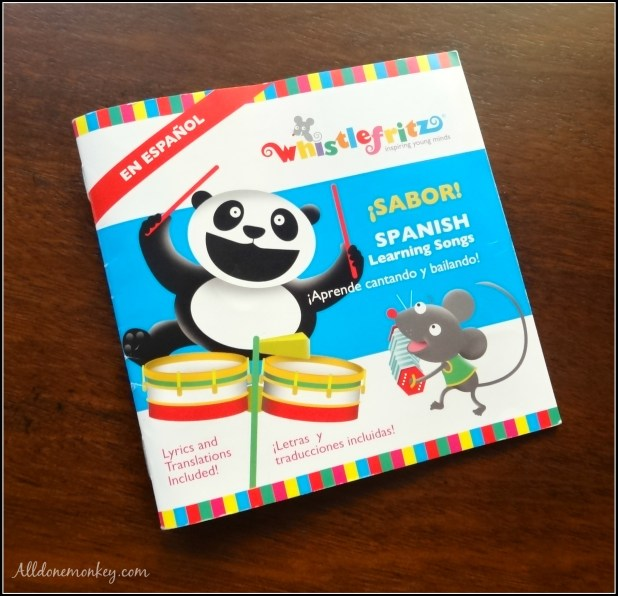 Spanish Learning Songs for Kids: Whistlefritz CD Review | Alldonemonkey.com