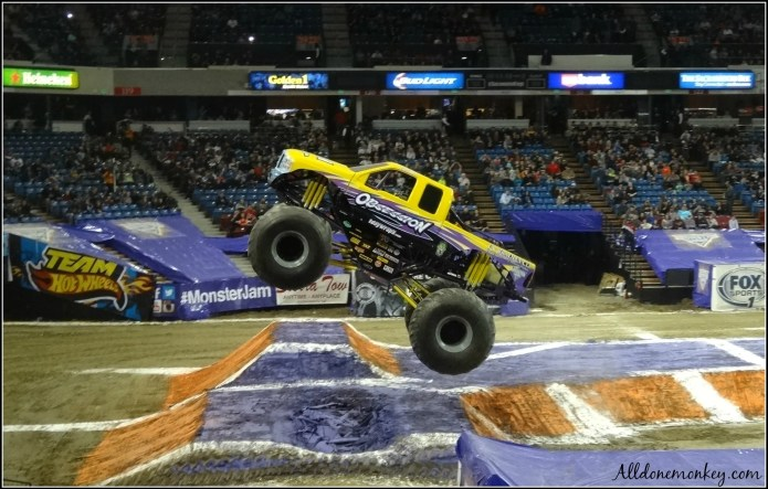 Monster Truck Show: 5 Tips for Attending with Kids | Alldonemonkey.com