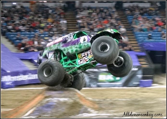 Monster Truck Show: 5 Tips for Attending with Kids | Alldonemonkey.com