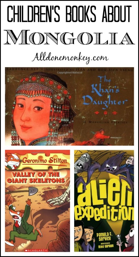 Children's Books About Mongolia {Around the World in 12 Dishes}   Alldonemonkey.com