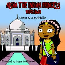 Aisha the Indian Princess Visits India