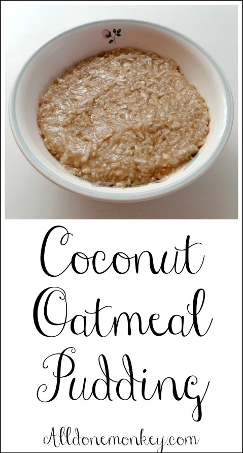 Coconut Oatmeal Pudding: Learning about Senegal {Around the World in 12 Dishes} | Alldonemonkey.com