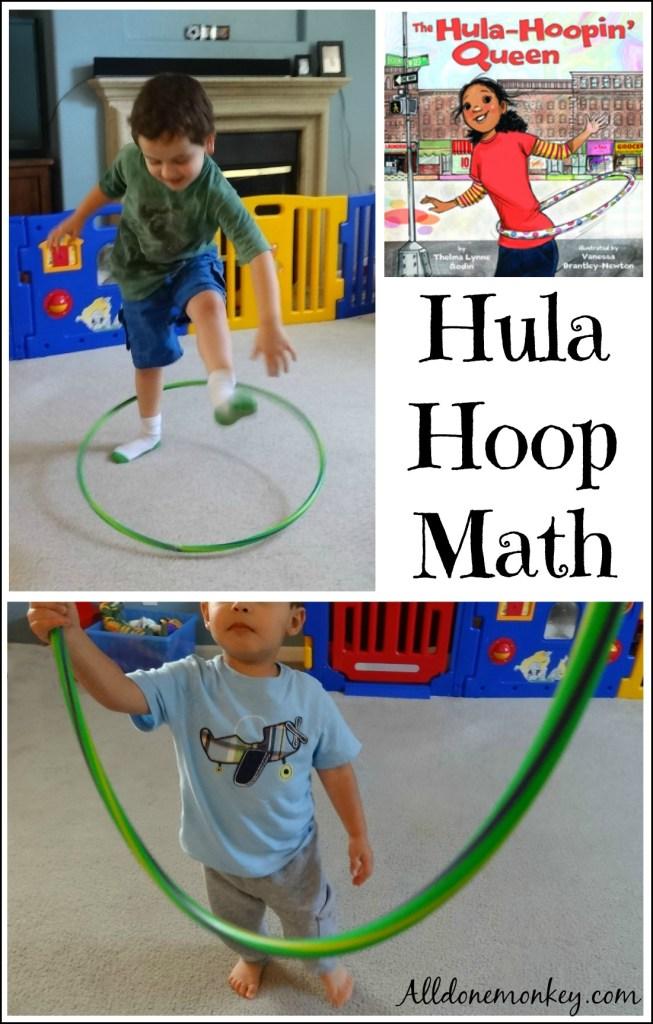 Hula Hoop Math Activity {Booking Across the USA} | Alldonemonkey.com