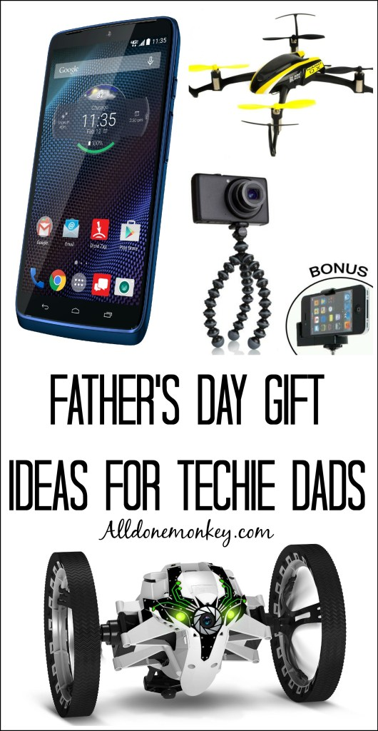 Father's Day Gift Ideas for Techie Dads | Alldonemonkey.com