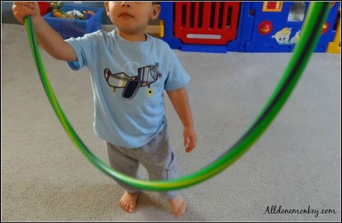 Hula Hoop Math Activity {Booking Across the USA} | Alldonemonkey.com
