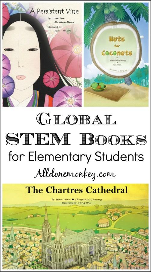 Global STEM Books for Elementary Students | Alldonemonkey.com