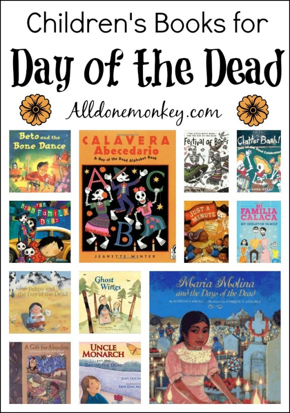Children's Books for Day of the Dead | Alldonemonkey.com